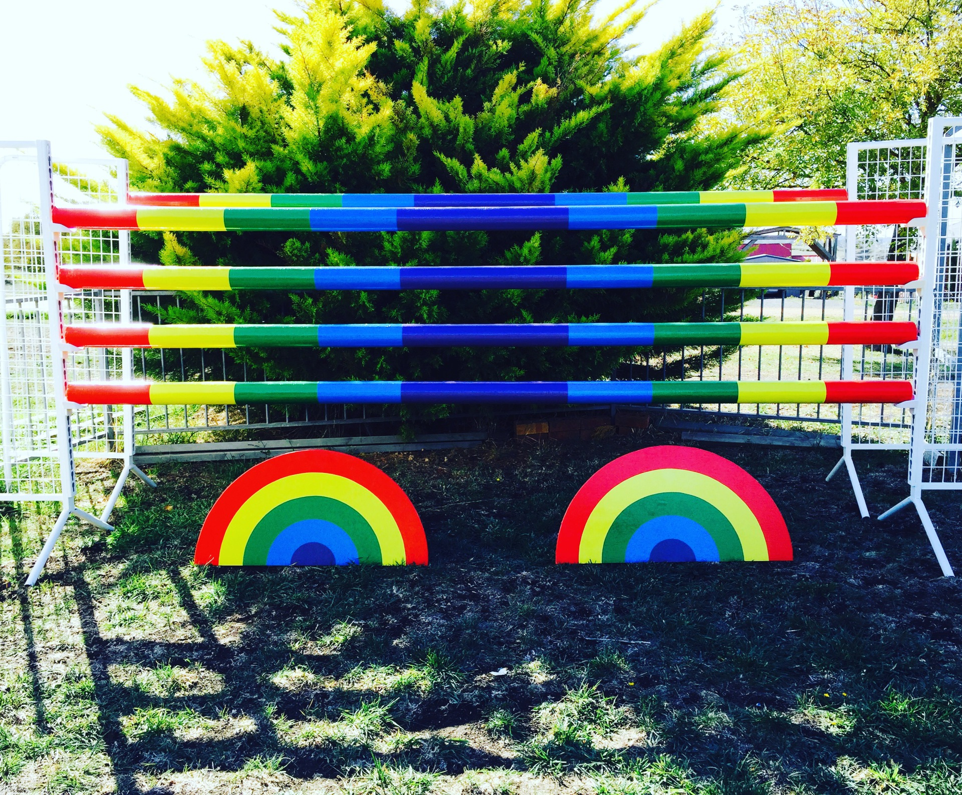 Horizon Show Jumps - Rainbow Fills