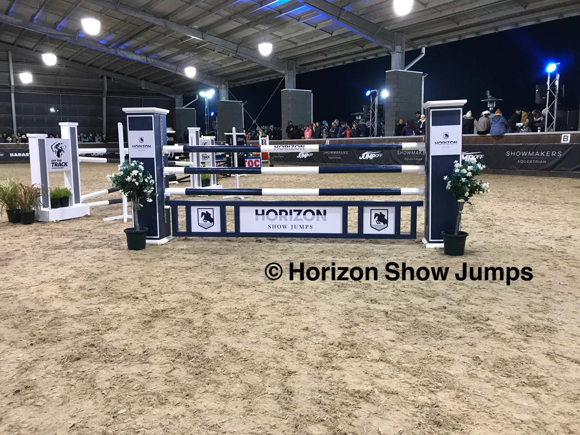 Horizon Show Jumps - Sign Writing
